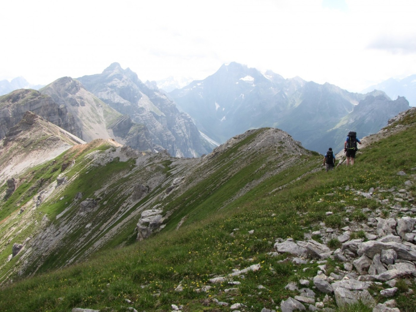 Ridge from the Kesselspitze to the Wasenwand