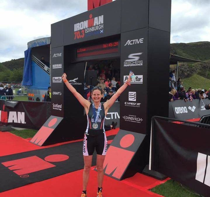 Ironman 70.3 Edinburgh, Clare Dow's Race Report: Was it all a dream?