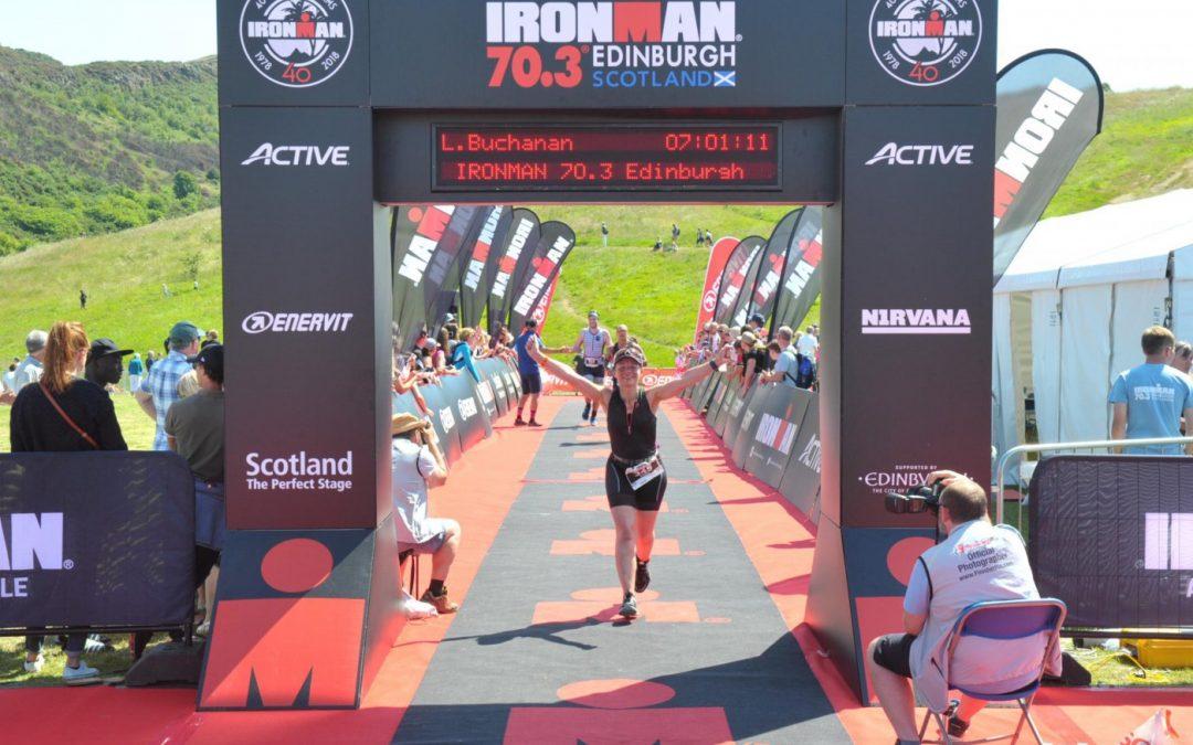 Linda Buchanan: Finished unfinished business at Edinburgh 70.3